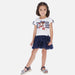 SS20 Mayoral Girls Navy Blue Sailor Dress 3958