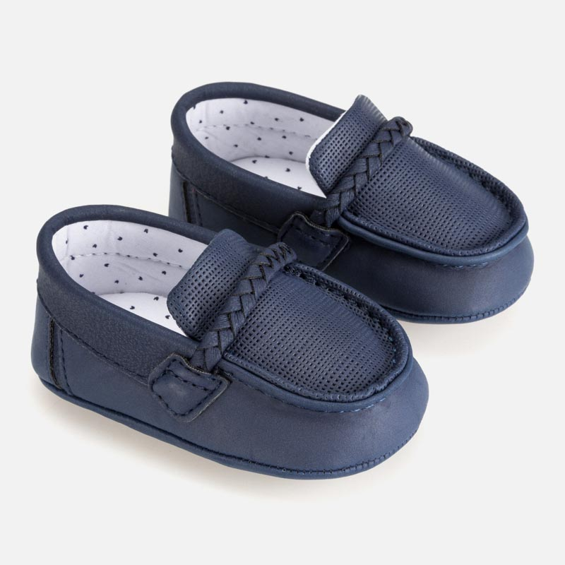 Mayoral Baby Boy Navy Blue Loafers 9275