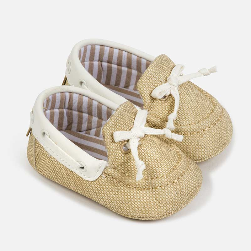 Mayoral Baby Boy Camel Loafers 9277