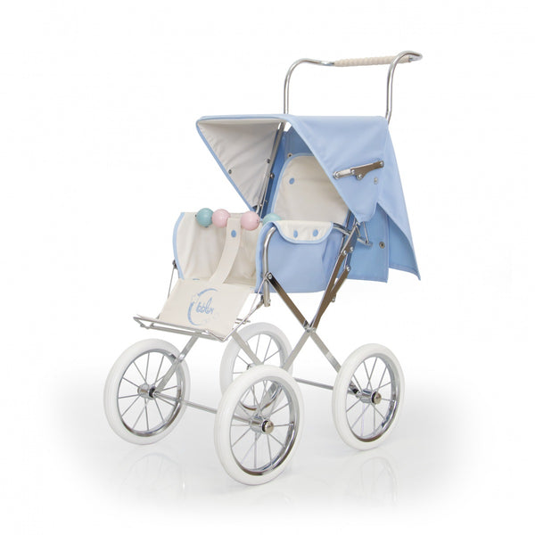 BebeLux Spanish Paris Blue Doll's Pushchair
