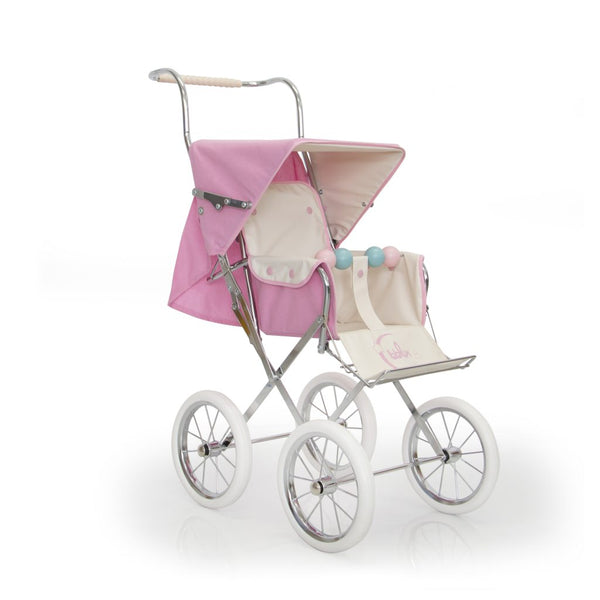 BebeLux Spanish Paris Big Doll's Pushchair In Pink