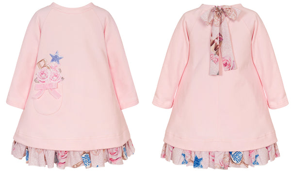 AW20 Balloon Chic Girls Pink Fairytale Dress