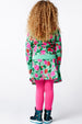 AW16 Mim-Pi Girls Green Floral Skirt 277 - Liquorice Kids