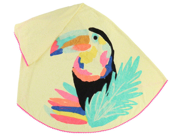 SS18 Billieblush Girls Yellow Toucan Beach Towel