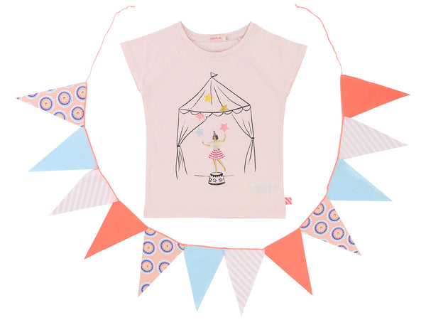 SS18 Billieblush Girls Pink Circus Top
