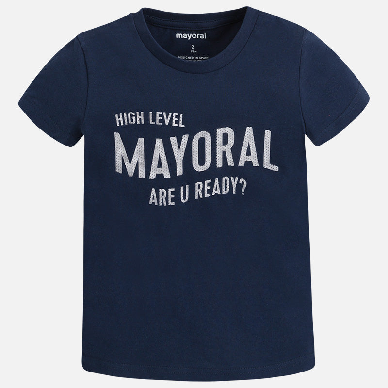 f7e225c86 SS18 Mayoral Boys Navy Short Sleeved T-Shirt 170 – Liquorice Kids