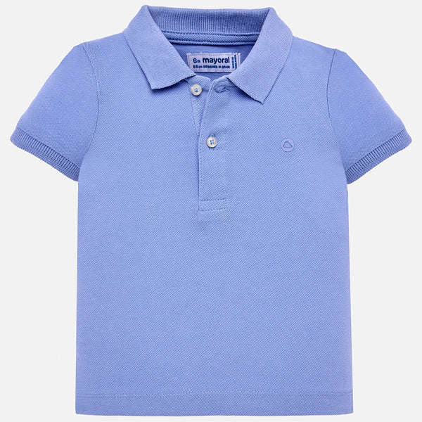 SS19 Mayoral Toddler Boys Pale Blue Polo Top 102