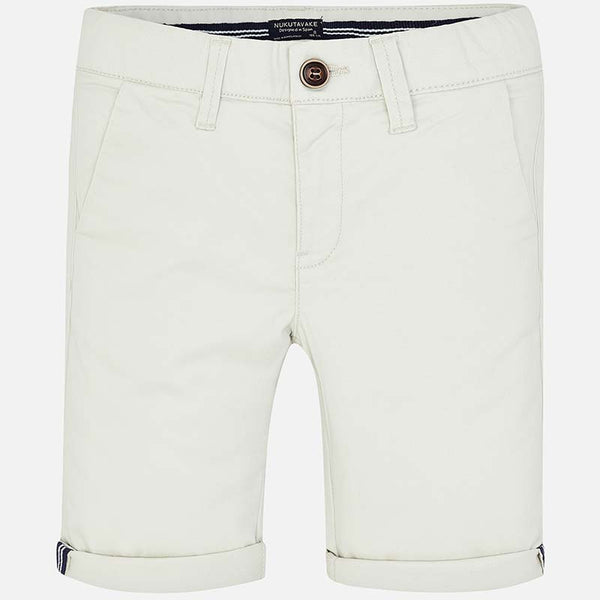 SS19 Mayoral Older Boys Beige Chino Shorts 242