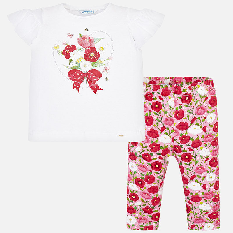 f0d685cc8ce52b SS19 Mayoral Girls Pink & Red Floral Leggings Set 3508 – Liquorice Kids