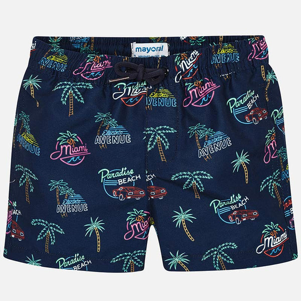 SS19 Mayoral Boys Miami Swimming Trunks 3617