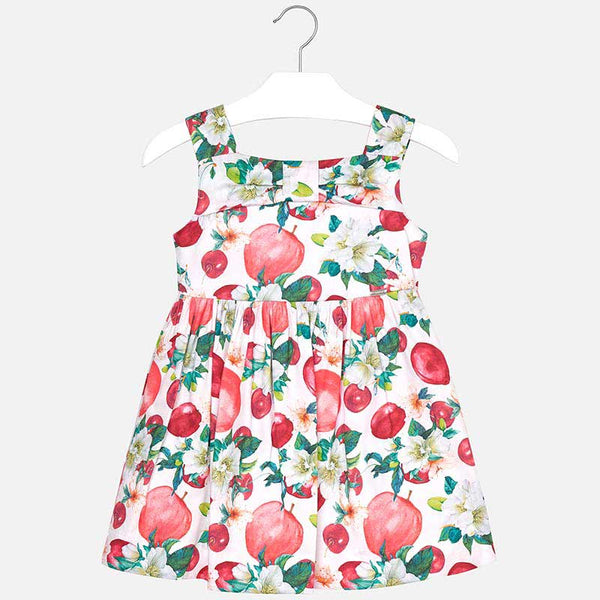 SS19 Mayoral Girls Fruit & Flowers Dress 3946