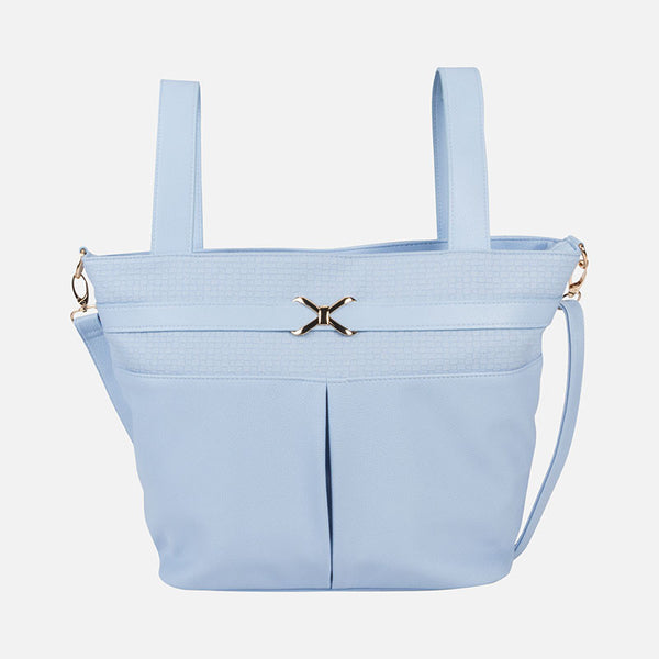 Mayoral Baby Blue Pram Bag 19415 - Liquorice Kids