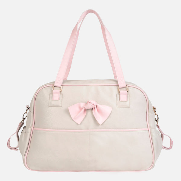Mayoral Baby Changing Bag - Beige And Pink 19684