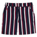 SS20 Patachou Boys Navy Blue Nautical Stripes Short Set