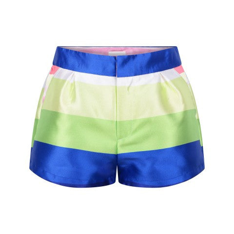 SS16 Fun & Fun Girls Multi-Coloured Stripe Shorts
