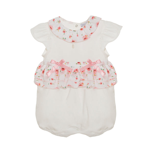 SS21 Patachou Baby Girls Liberty Flower Print Romper