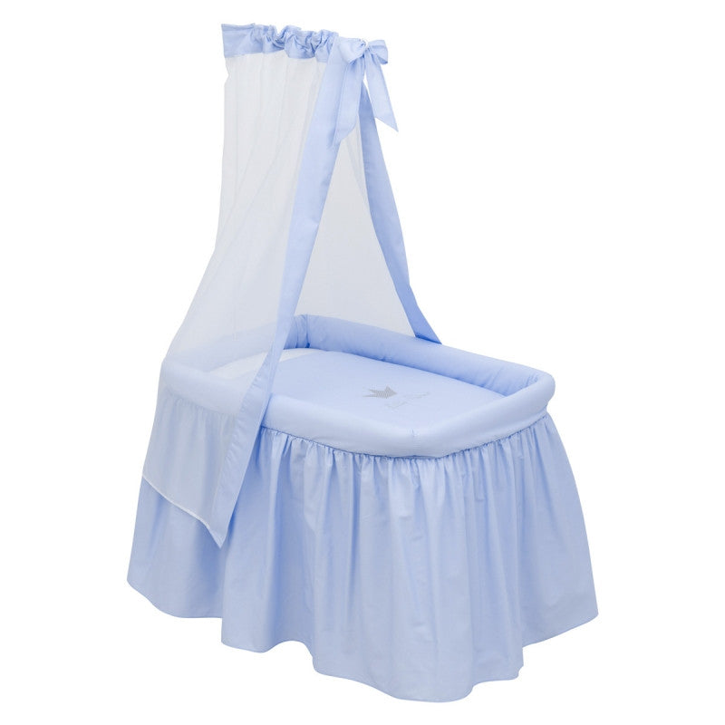 Cambrass Blue 'Little Prince' Crown Crib