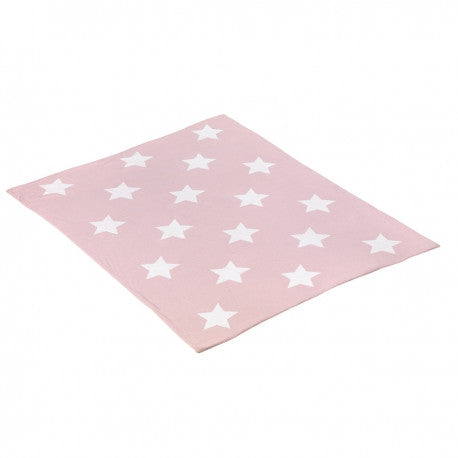 Cambrass Pink & White Star Blanket