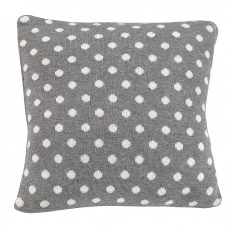 Cambrass Grey & White Spots Pillow