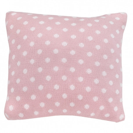 Cambrass Pink & White Spots Pillow