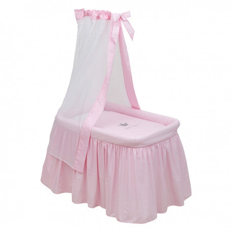 Cambrass Pink 'Little Princess' Crown Crib (ex display)