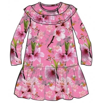 AW20 Happy Calegi Girls Pink Lily Dress