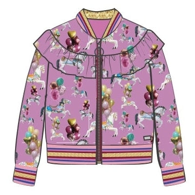 Pre-Order AW20 Happy Calegi Girls Carousel Bomber Jacket