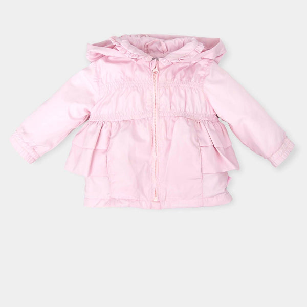 SS18 Tutto Piccolo Girls Pink Bow Jacket 4517