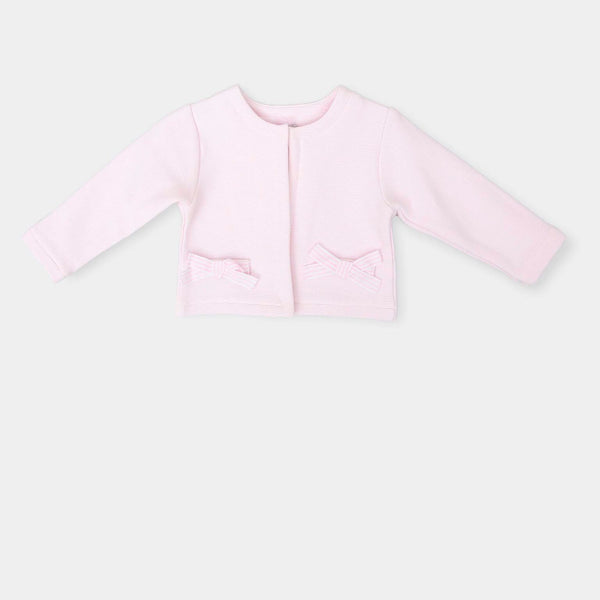 SS18 Tutto Piccolo Girls Pink Cardigan 4546