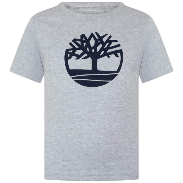 SS19 Timberland Boys Grey Branded T-Shirt