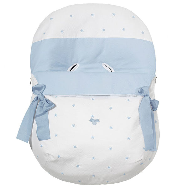 Uzturre White & Blue Stars Universal Car Seat Cover