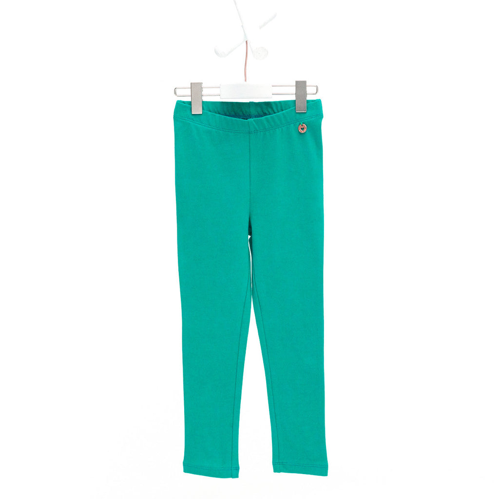 AW17 Mim-Pi Girls Green Leggings 612 - Liquorice Kids