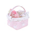 La Nina Dolls Pink Basket With Accessories