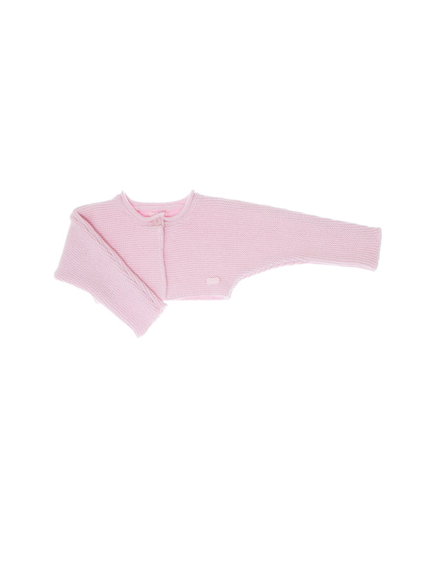 aw14 Tutto Piccolo Baby Pink Cardigan - Liquorice Kids