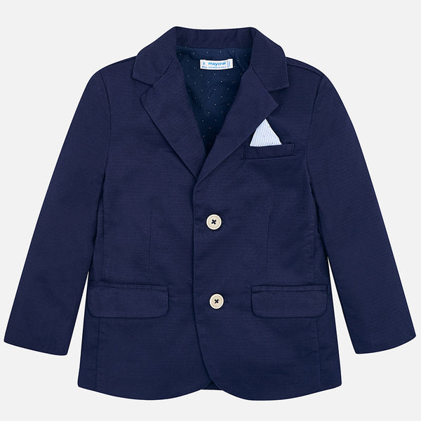 SS18 Mayoral Boys Navy Blue Blazer 3452