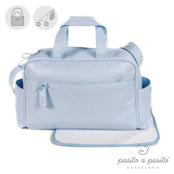 Pasito a Pasito New Cotton Blue Changing Bag