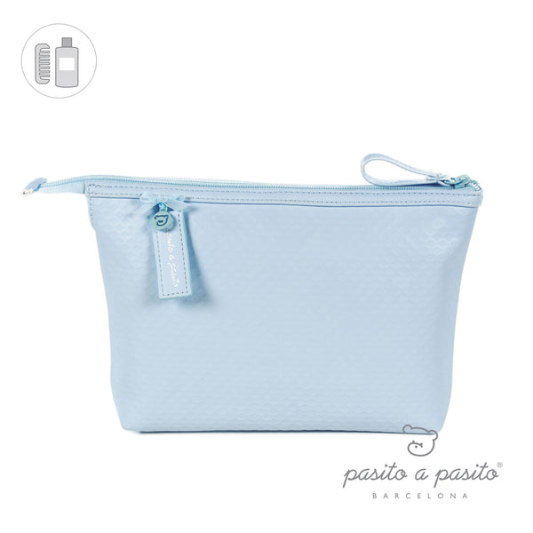 Pasito a Pasito New Cotton Blue Toiletry Bag