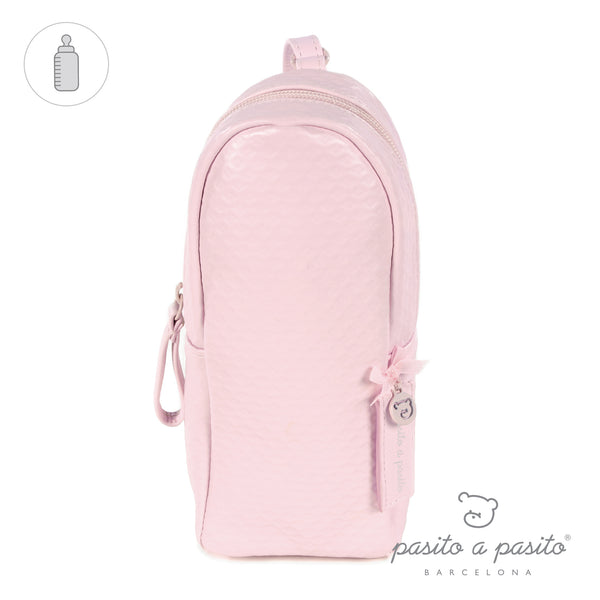 Pasito a Pasito New Cotton Pink Insulated Bottle Bag