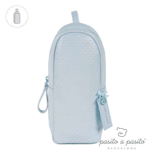 Pasito a Pasito New Cotton Blue Insulated Bottle Bag