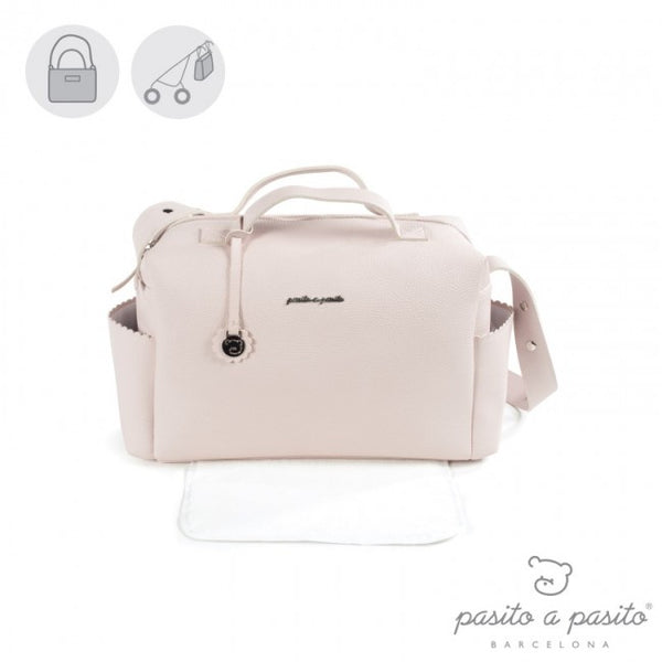 Pasito a Pasito Pink Biscuit Changing Bag