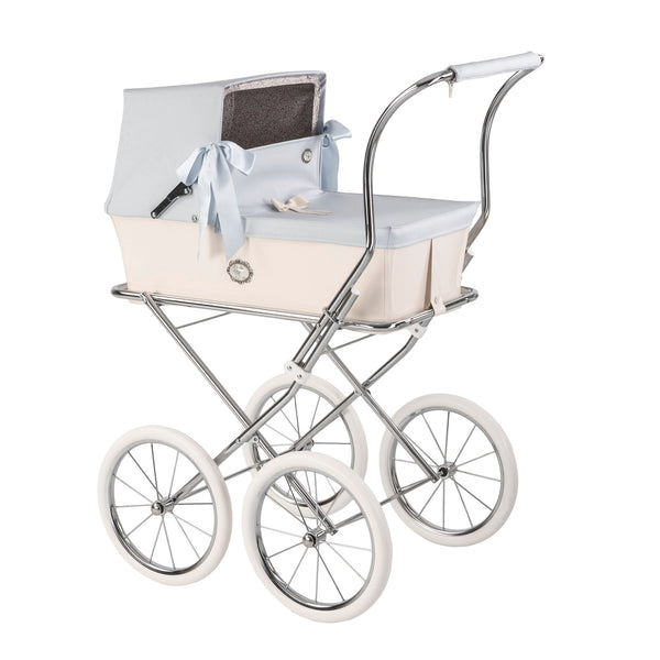 Bebelux Spanish 'Sweet Baby Blue' Doll's Pram