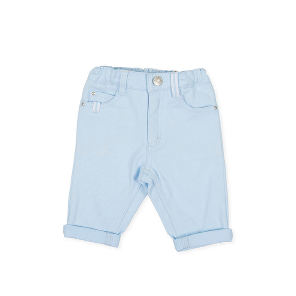 AW20 Tutto Piccolo Boys Blue Trousers 9115
