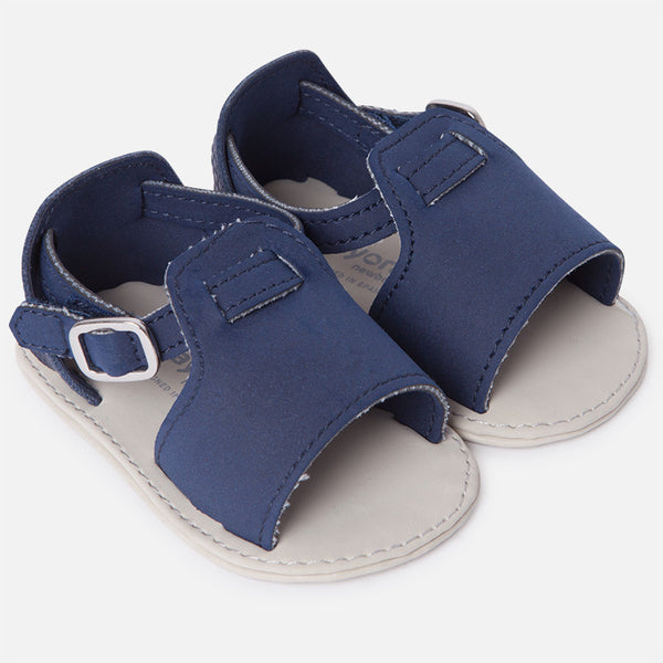 SS18 Mayoral Baby Navy Blue Soft Sole Sandals 9744
