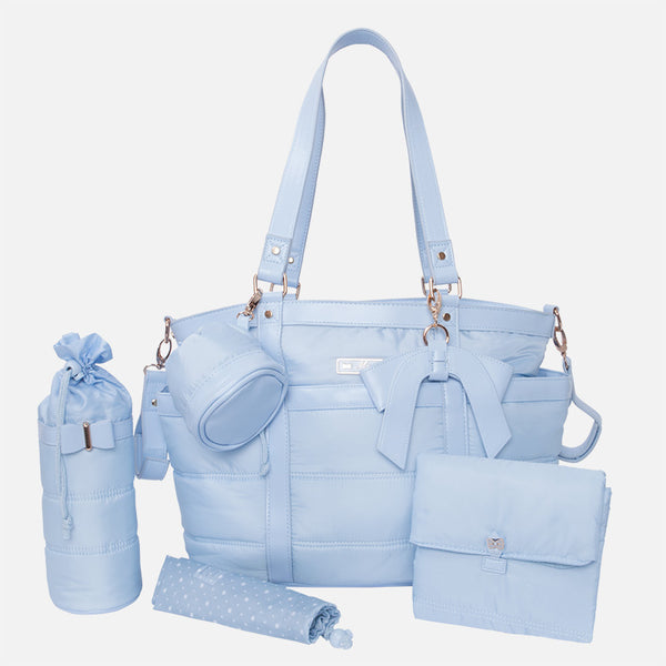 Mayoral Baby Changing Bag with Accessories- Blue 19550 - Liquorice Kids
