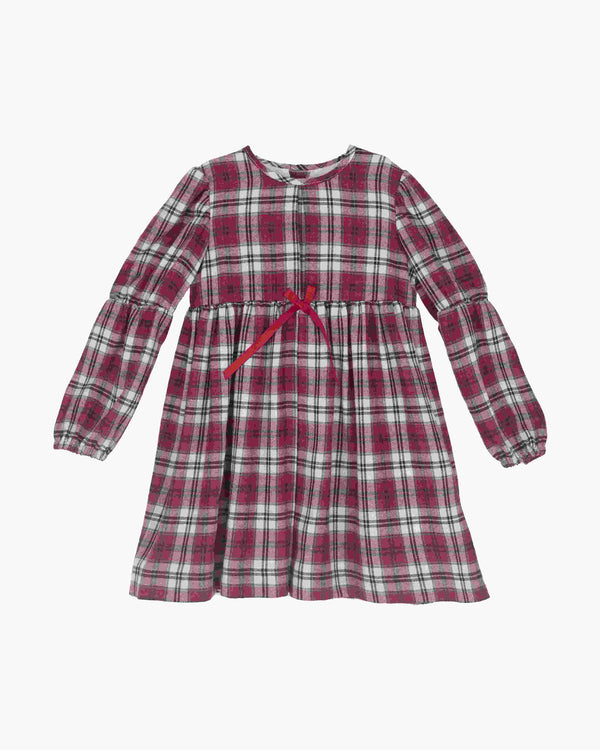 AW18 Tartaleta Girls Burgundy Tartan Dress