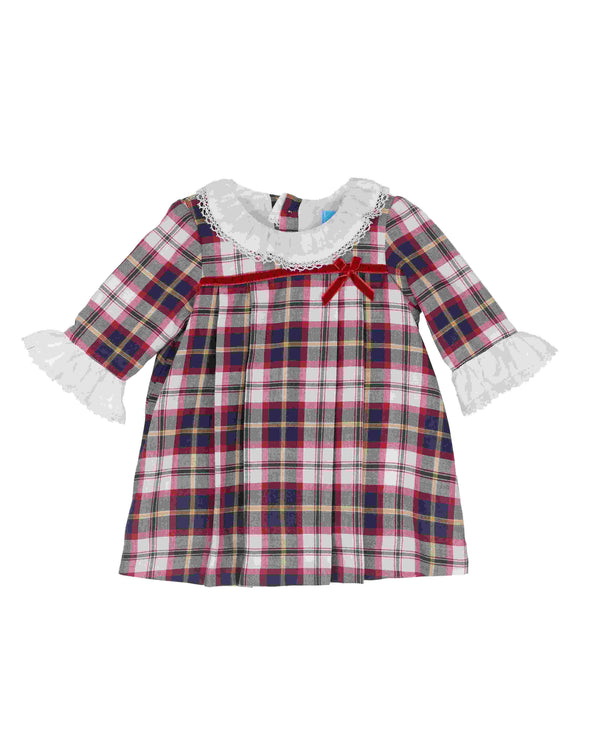 AW18 Tartaleta Baby Girls Tartan Dress