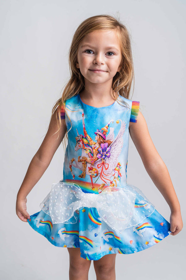 SS21 Rosalita Girls Atkinson Unicorn Dress