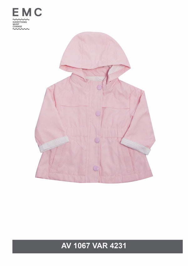 SS19 Everything Must Change Baby Girls Pink Jacket