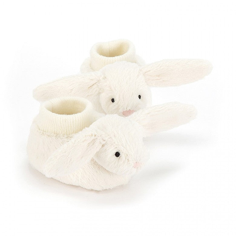 Jellycat Bashful Cream Bunny Booties - Liquorice Kids