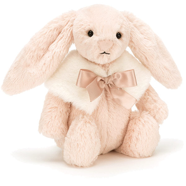 Jellycat Bashful Blush Snow Bunny Small